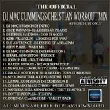 DJ MAC CUMMINGS WORKOUT PRAISE MEGA MIX Volume 1