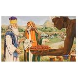 """The meeting of Abram & Melchizedek...a type & shadow,"""