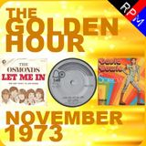 GOLDEN HOUR : NOVEMBER 1973
