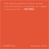 FADER Mix: Retiree