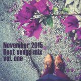 COLUMBUS BEST OF NOVEMBER 2015 MIX- VOL. ONE