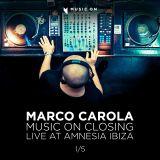 Marco Carola - Music On Closing - 28:09:12 Live at Amnesia Ibiza part 1/5