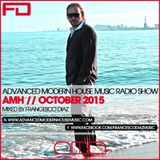 ADVANCED MODERN HOUSE MUSIC RADIO SHOW OCTOBER 2015 BY FRANCESCO DIAZ