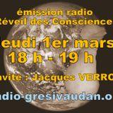 Emission du jeudi 1er mars 2018, invité Jacques VERRON