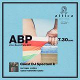 attica Beach Party 2017