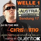 AUSTRIA MUSIC SHOW Sendung 17 Hosted by Guenta K - DJ in the Mix Chris Wittig