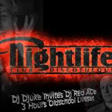 Dj Djuke vs Dj Red Ace (UHM) Live @ Club Nightlife 20.7.2014 (Oldschool  1-2)