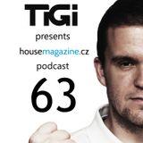 TiGi presents housemagazine.cz podcast 063 (DJ Faith guestmix)
