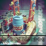 Live @ Monkey Business 20.10.13