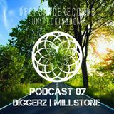 DEEP SPACE RECORDS PODCAST NUMBER 7 FT - DIGGERZ + MILLSTONE APRIL 2014