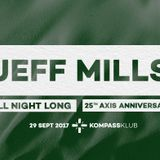 Ambient warm-up for Jeff Mills at Kompass 29.09.2017