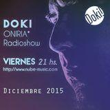 Doki - Oniria Radioshow @Nube Music * Diciembre 2015