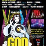 dj Franky Jones @ Gesu Church Brussels - God is a dj 18-05-2013