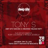 Tony S Deep Site @ Tokyo Bar Promo Mix