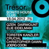Joerg Coon @ Bonito House Club - Tresor Berlin - 18.04.2012