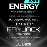 Ramjack1st show on energy1058.com