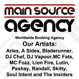 DJ Vapour - Nov 2012 Main Source Agency Exclusive Studio Mix