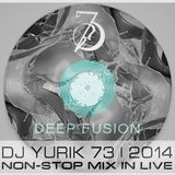 Sesion DJ YuriK 73 S.A. 2015 - Deep Fusion - NONSTOP MIX LIVE