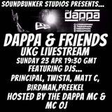 """""""Dappa & Friends"""" live from the Soundbunker Studios ft Twista DJ"""