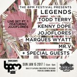 BPM Festival Legends Opening Set by jojoflores