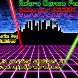 Retro Dance Party 11.12.2016 LIVE on Renegade Retro <renegaderetro.com>