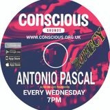 ANTONIO PASCAL b2b ADRIAN D AGE on CONSCIOUS SOUNDS .... catch Antonio every Wednesday at 7pm