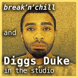 Diggs Duke in the studio / Live @ WMUC FM / 20 Jan'14