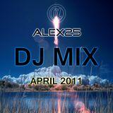 ALEX25 - Dj Mix April 2011
