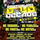 Nefti & Mc Impact - Live @ Pretorians Gold Decade 16.11.2013