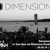 Dimensions Festival Show w/ Gene Hunt Guest Mix, 9th May 20116
