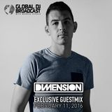Markus Schulz - Global DJ Broadcast (11 February 2016) with guest Dimension