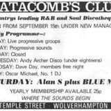 20 minutes feature on Wolverhampton's Catacombs Club