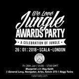 Blueprint w/ Ray Keith, General Levy, DJ Tasmin, Aries, + More [Jungle Awards] - 26th January 2018