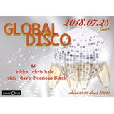 """Global Disco"" Live mix 20180728"