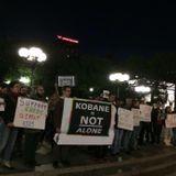 Il mio intervento per la Radio Onda d'Urto sulle manifestazioni solidali con Kobane(2) - 07/10/14