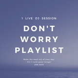 #Don't Worry Playlist/Mesto,Martin Garrix,Justin Bieber,Avicii,Maroon5/ 1 LIVE DJ SESSION  Jan.2020