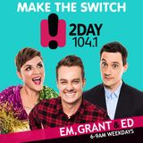 We chat to Tracey and Sean from Married At First Sight, Em gives Ed an Emtervention, And Kitty Flann