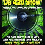 Reality - Live on The 4:20 show UB-Radio.com