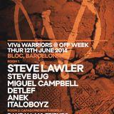 Steve Bug & Detlef - Live At ViVa WaRRiors Showcase, Sala Bloc (Off Sonar Week 2014, BCN) - 12-Jun