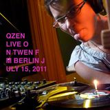 Mix + Interview: Live on Twen FM - July 15, 2011