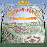 DJ PAYGAN warm up for Whirl-Y-Fayre, 17th August 2019