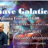 Programa A Nave Galatica 30.11.2017 - Karen Rodriguez Liliana Ferlim e Ronaldo Monteiro