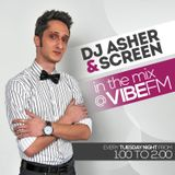 DJ Asher & ScreeN in the mix @ Vibe Fm - 05.02.2013
