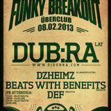 Funky Breakout Tallinn (08.02.2013) LIVE mix