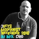 3Keys Modernist Weekender 2016 - Ciro - DJ Profile