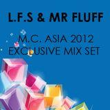 L.F.S. & MR FLUFF: MUSIC CONFERENCE ASIA 2012 EXCLUSIVE