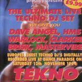 Dance Paradise Tekno Time Vol.3 - Clarkee / Warlock