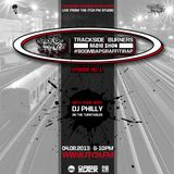DJ Philly - Trackside Burners 1 - ITCH FM (04-AUG-2013)