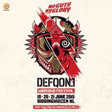 The colors of Defqon.1 2015 - Mark with a K - BROWN