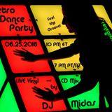 Retro Dance Party 06.25.2016 LIVE on Renegade Retro <renegaderetro.com>